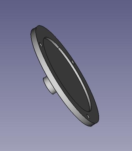 CoperchioMicrometro_01.jpg Download free STL file Recupero vecchio micrometro • 3D printing design, Scigola