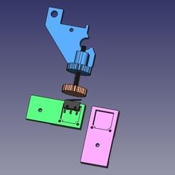 Télécharger plan imprimante 3D gatuit Alfawise U30 Z Stop, Scigola