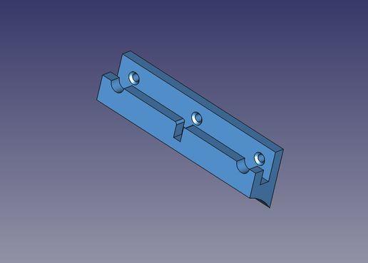 sopporto_VESA_100_Parete.jpg Télécharger fichier STL gratuit Sopperto VESA par moniteur ou télévision • Design pour imprimante 3D, Scigola