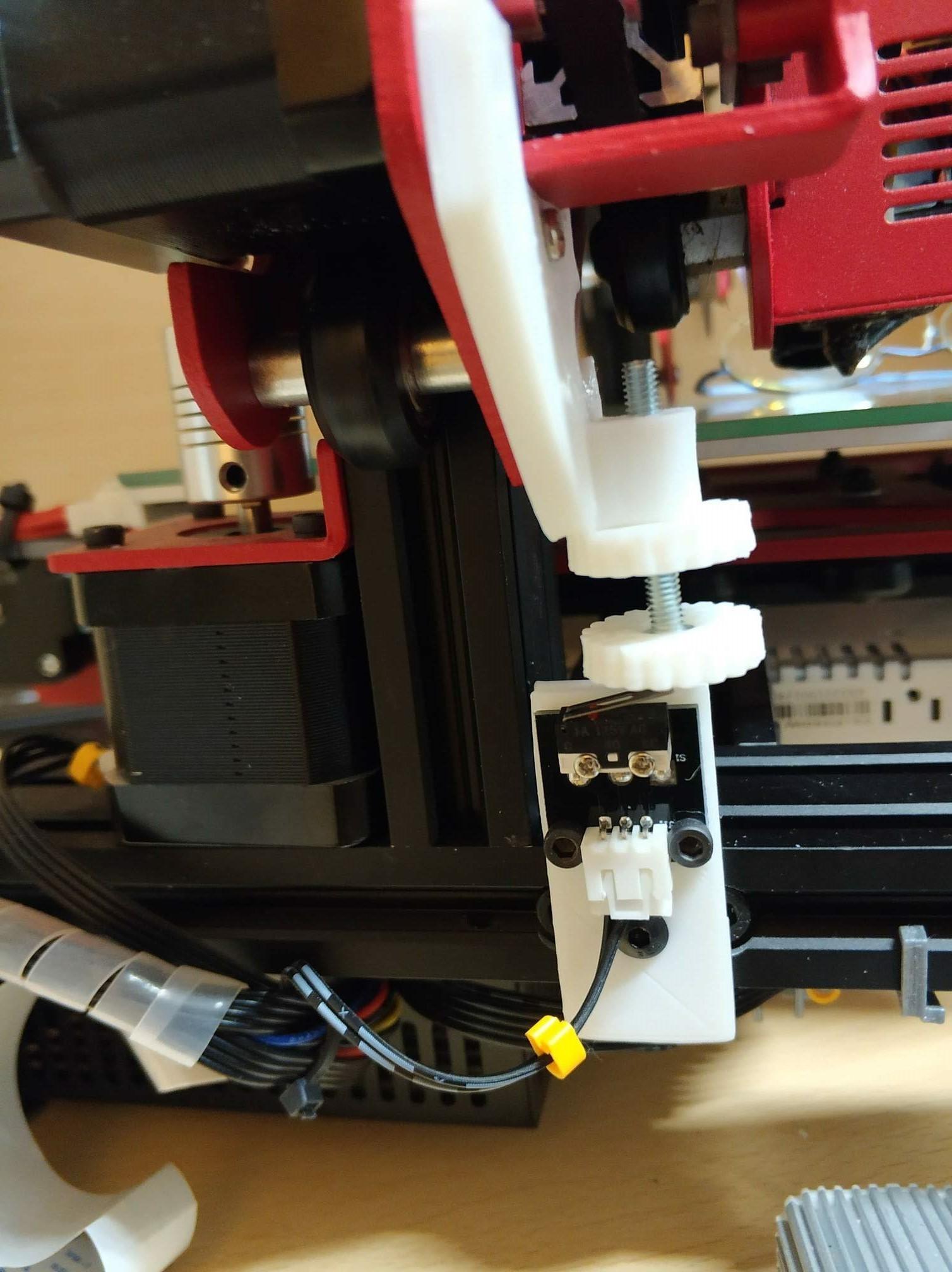 IMG_20191111_073044.jpg Download free STL file Alfawise U30 Z Stop • Model to 3D print, Scigola