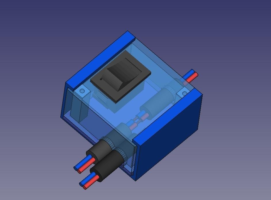 Distributore_corenteV3.jpg Télécharger fichier STL gratuit Distributore corente • Modèle pour impression 3D, Scigola