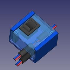 Distributore_corenteV3.jpg Download free STL file Distributore corente • Model to 3D print, Scigola