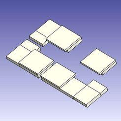 Télécharger fichier impression 3D gratuit AlfawiseU30 - piatto angolari, Scigola