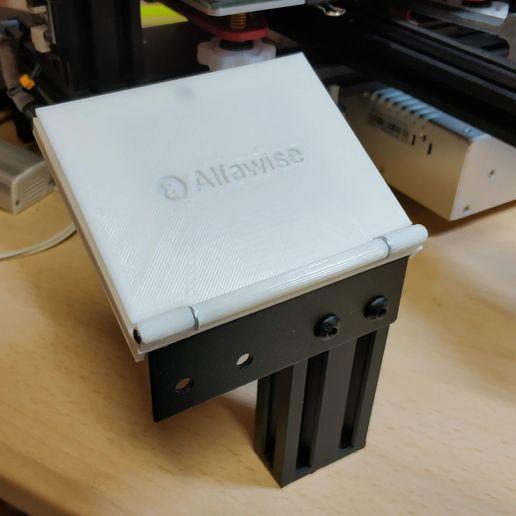 Download free STL file Alfawise U30 - Cover display • 3D printable object, Scigola