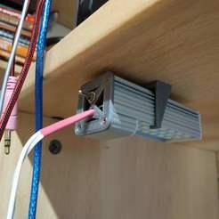 Descargar archivos STL gratis Soporte para lámpara de leds, Scigola