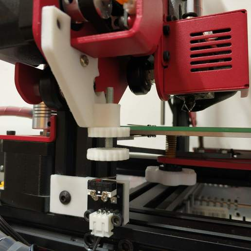 Download free 3D printing models Alfawise U30 Z Stop, Scigola