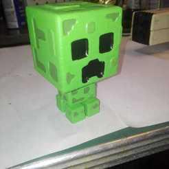 Imprimir en 3D creeper, yeisonvillamil