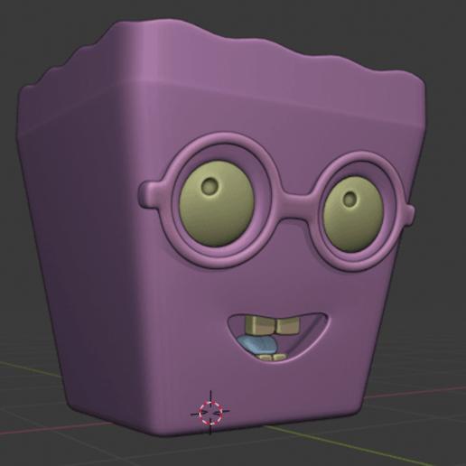 cajita.png Download free STL file multi use corn box • 3D printing design, yeisonvillamil