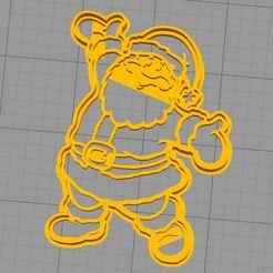 Descargar archivo 3D gratis Cortador de galletas para todo el cuerpo de Papá Noel, araaftw