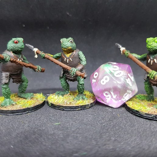 Download free STL Bullywug for 28mm Tabletop Roleplay, AJade