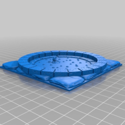 Download free 3D printer files Openlock Acid pool with dead adventurer, AJade