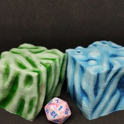 Download free 3D print files Gelatinous Cube for 28mm Tabletop Roleplay, AJade