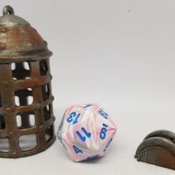 Download free 3D printing files Dungeon Terrain: Lever and Cage (Dice jail), AJade