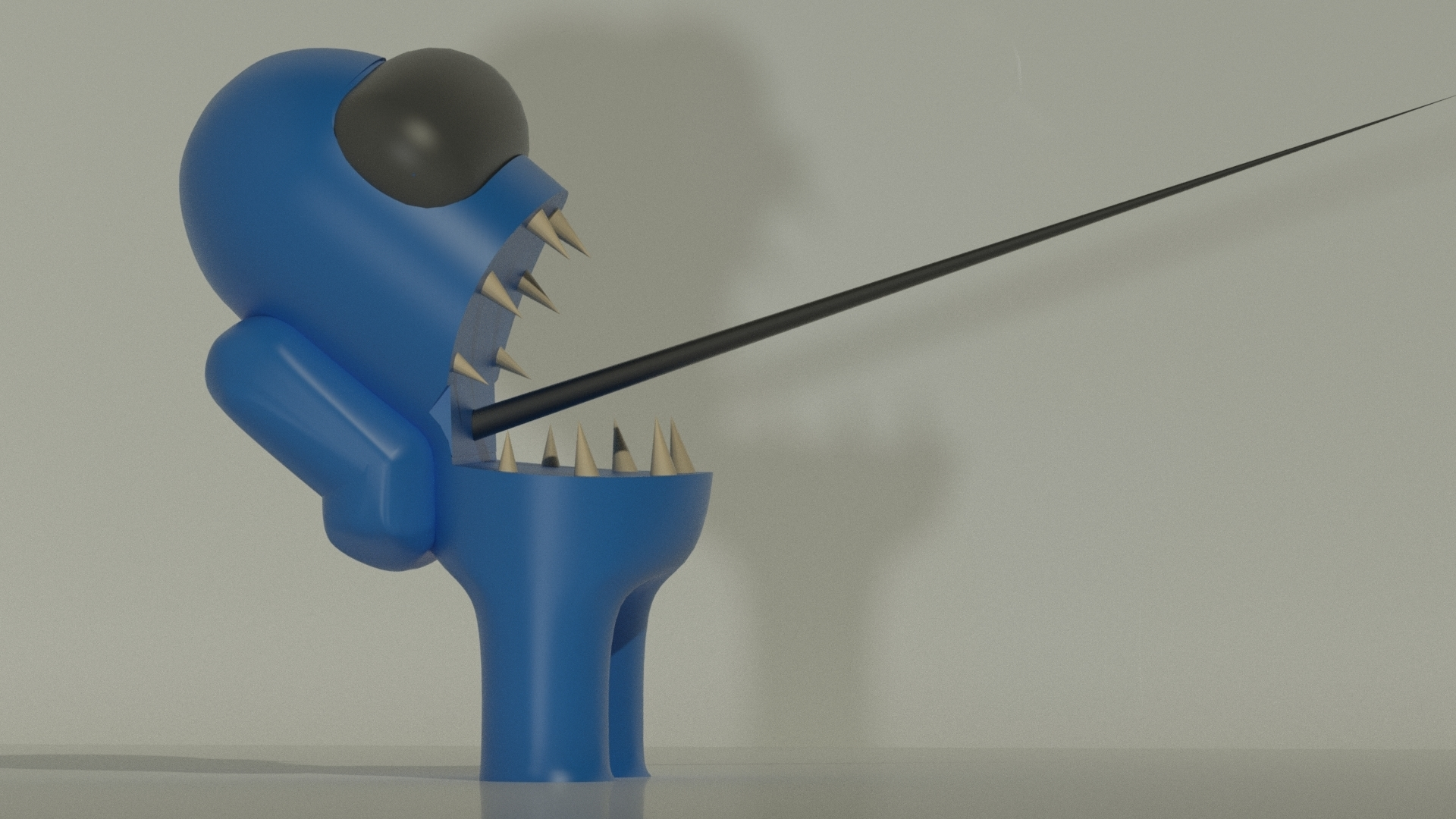 Download Stl File Among Us Imposter 3d Printing Model Cults