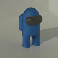 Amoung us 3D.jpeg Télécharger fichier STL Parmi nous • Objet imprimable en 3D, Tabulador