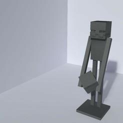20200705_152333.jpg Télécharger fichier STL Enderman Minecraft • Modèle à imprimer en 3D, Tabulador