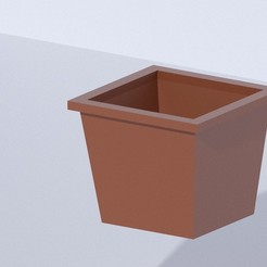 Download free 3D printer files Minecraft pot, fabriciobroggi