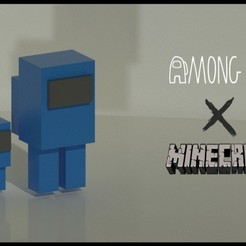 20200921_121203.jpg Télécharger fichier STL Parmi nous X Minecraft - 2 • Objet imprimable en 3D, Tabulador