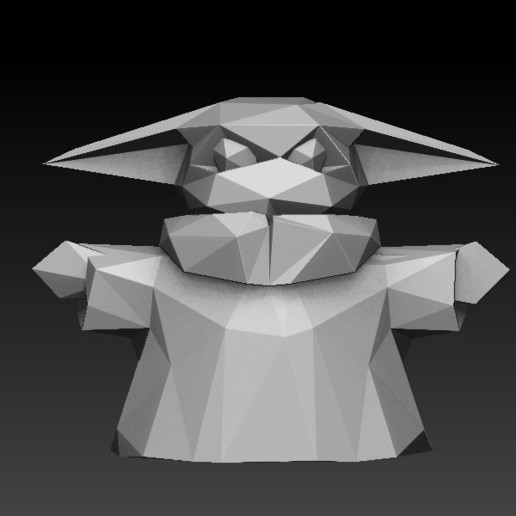 Download 3D printing designs Baby Yoda The Child Low Poly Tesla Truck Cyberpunk, Taller-B