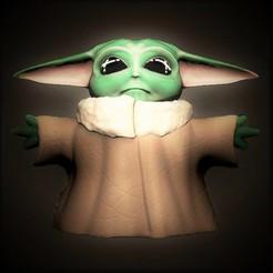 Descargar modelo 3D Baby Yoda The Child, Taller-B