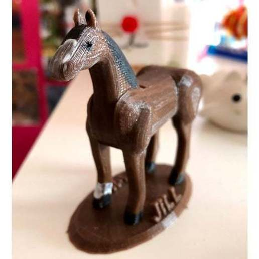 Download free 3D printer designs Horse puzzle, roelnoten