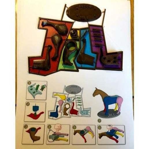 e0265a2cf314bd40a16293b2e82b74e1_preview_featured.jpg Télécharger fichier STL gratuit Puzzle cheval • Objet pour imprimante 3D, roelnoten