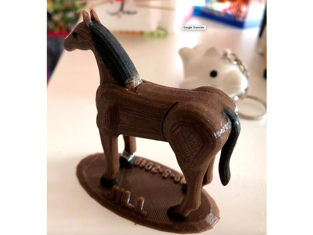 9d38f5852b2b9977b30bbb8efdbe7969_preview_featured.jpg Download free STL file Horse puzzle • 3D printing design, roelnoten