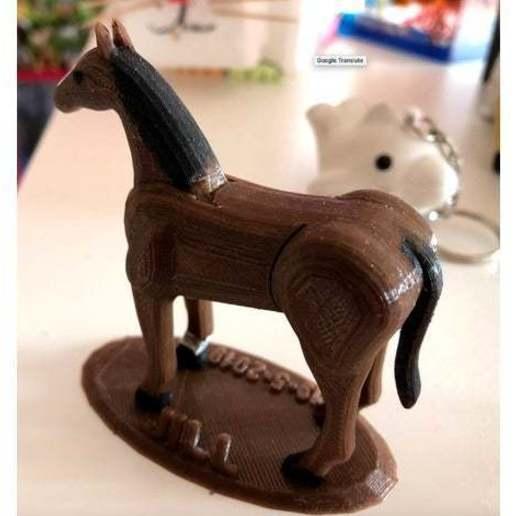 9d38f5852b2b9977b30bbb8efdbe7969_preview_featured.jpg Télécharger fichier STL gratuit Puzzle cheval • Objet pour imprimante 3D, roelnoten