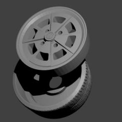 roda r84.png Télécharger fichier STL Roda Vw R84 • Modèle pour imprimante 3D, Maur0