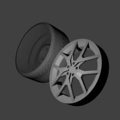 roda amarok v6.png Télécharger fichier STL Roda amarok v6 • Objet pour imprimante 3D, Maur0