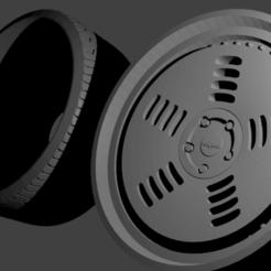 Rotiform BM1.png Télécharger fichier STL Roda Rotiform BM1 • Plan pour impression 3D, Maur0
