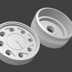 roda gota vw.png Download STL file roda pingo d'água • Object to 3D print, Maur0