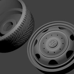 roda euro van.png Télécharger fichier STL Roda Eurovan • Design imprimable en 3D, Maur0