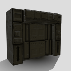 Download STL files Blast Doors, SimonTGriffiths