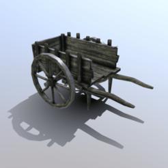 Descargar STL Puntal medieval de carros de baja poliéster, SimonTGriffiths