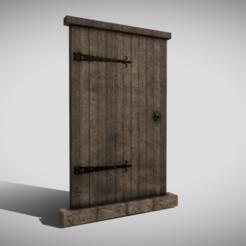 A0.png Télécharger fichier 3DS Porte médiévale • Design pour impression 3D, SimonTGriffiths