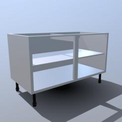 Descargar modelos 3D para imprimir Base de la unidad de cocina, SimonTGriffiths