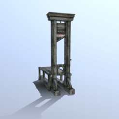 Download 3D printer model Guillotine, SimonTGriffiths