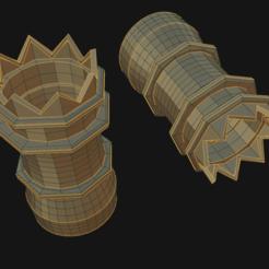 A0.png Download OBJ file Empty Chimney Pot • 3D print object, SimonTGriffiths