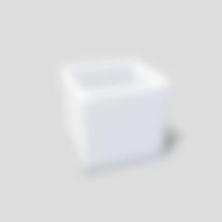 Download free STL file Empty square pot, SimonTGriffiths