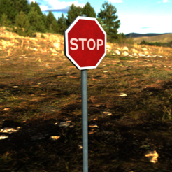 Download STL Stop Sign, SimonTGriffiths