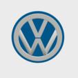 Download 3D model VW Badge, SimonTGriffiths
