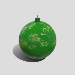 b0.png Download 3DS file Christmas Ball • 3D printable template, SimonTGriffiths