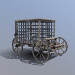 Descargar modelos 3D Vagón de prisión, SimonTGriffiths