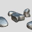 Descargar archivos STL Rock Pack Estilizado, SimonTGriffiths