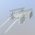 Download STL Medieval Cart, SimonTGriffiths