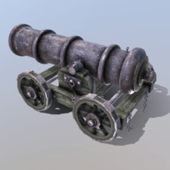 Download 3D printing models Ships Cannon, SimonTGriffiths