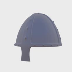 Helm0.png Télécharger fichier OBJ gratuit 1 Casque en maille Norman • Design pour imprimante 3D, SimonTGriffiths