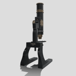 A0.png Download 3DS file Antique Microscope • 3D printable model, SimonTGriffiths