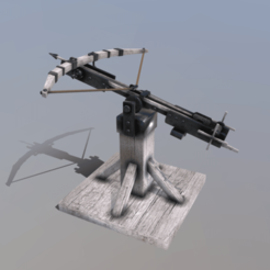 b0.png Download 3DS file Siege Ballista • 3D printing object, SimonTGriffiths